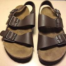 Brand New Brown Leather Tatami by Birkenstock Sandals Size 4.5 U.s Photo