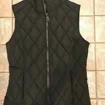 Brand New Calvin Klein Black Quilted Vest Small Photo