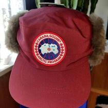 Brand New Canada Goose Hat Shearling Niagara Grape Unisex One Size 100%Authentic Photo