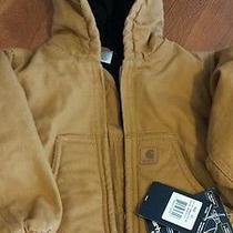 Brand New Carhartt Jacket 2t...just Like Dad Wears Photo