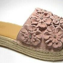 Brand New Carlos by Carlos Santana Size 7.5 Pink Blush Mule Sandal Shoes  Photo