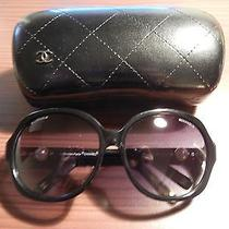 Brand New Chanel Like Sunglasses Pearl Black Photo