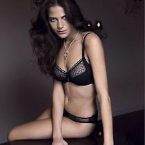 Brand New Chantelle C Chic 3 Part Cup 3582 Full Cup Mesh Support Black 36h Photo