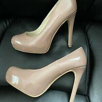 Brand New Chinese Laundry Whistle Pumps Blush Nude Patent Leather Size 8.5 Photo