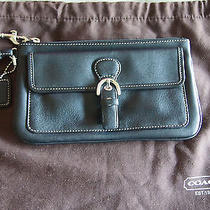 Brand New Coach Clutch Sm With Dust Bag Photo