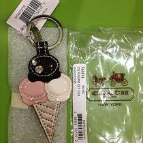 Brand New Coach Ice Cream Cone Key Ring Photo