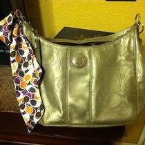 Brand New Coach Metallic Coach Bag Photo