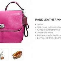 (Brand New) Coachpark Leather Violet Crossbody Photo