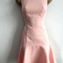 Brand New Coast Pink Blush Textured Dress Size 10 Photo