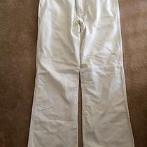 Brand New Condition Vintage Twill Express White Jeans 36w 34l Photo