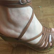 Brand New Costume National Wooden Platform Sandals Uk Size 39/us Size 8.5-9 Photo