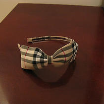 Brand New Custom Headband  Burberry Pattern Photo