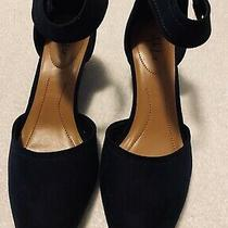 Brand New - Deep Blue Suede - Super  Gorgeous Wedges by  Style & Co - Size 9.5 M Photo
