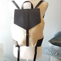 Brand New Deux Lux Vegan Leather/canvas Backpack Photo