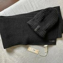 Brand New Diesel Hat and Scarf 100% Authentic Photo