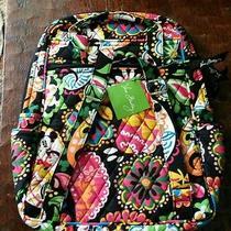 Brand New Disney Vera Bradley Midnight With Mickey Backpack Nwt Photo