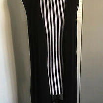 Brand New Dkny Donna Karan Black Sleeveless Jacket Great Layering Piece M Rrp85 Photo