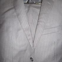 Brand New Dkny Luxury Navy Men Suit Size  40s 33w Photo