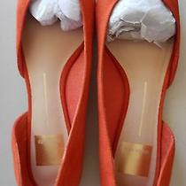Brand New Dolce Vita Women's Peach Suede Like Beautiful Flat Shoes Size 7.5m Photo