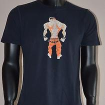 Brand New Dsquared2 T-Shirt Prisoner Mens Size L Photo