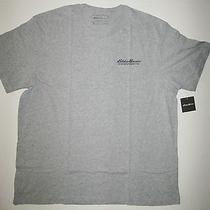 Brand New Eddie Bauer Men T-Shirt Xl Outdoor Gray Photo