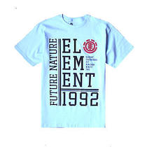 Brand New Element Mens Guys Graphic T Shirt Crew Tee Regular Fit Top Blouse Sz L Photo