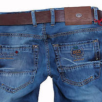 Brand New Exclusive Dsquared Men's Jeansgift Belt Size 34 Photo