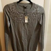Brand New Express Embellished Sweater Size Small Photo