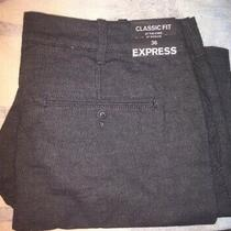 Brand New Express Shorts Size 36 Classic Fit Tags Golf Tennis Sail Swim 10 Is Photo