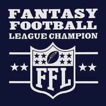 Brand New Fantasy Football League Champion Shirt Mens & Womens Ffl Nfl Parody Photo