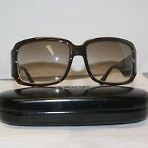 Brand New Fendi 456 206 Brown 60-16 Eyeglasses mod.456 (206) W/color Arm & Case Photo