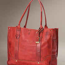 Brand New Frye Campus Shopper - Burnt Red (Retail 378) Photo