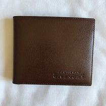 Brand New Gentlemen Givenchy Bifold Leather Wallet (Brown) Photo