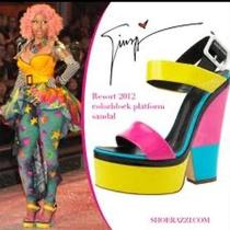 Brand New Giuseppe Zanotti Colorblock Sandals  Photo