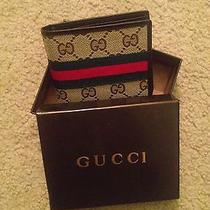 Brand New Gucci Men Wallet Leather / Brown / Bifold Photo