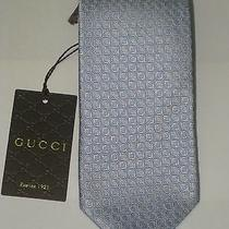 Brand New Gucci Silk Tie With Gift Box Photo