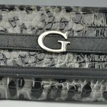 Brand New Guess Ladies Covent Garden Cq Wallet Black Purse Nwt Photo