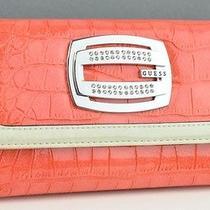 Brand New Guess Ladies Darlina Wallet Coral Cq Purse Photo