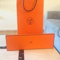 Brand New Hermes Tie Box and Gift Bag Photo