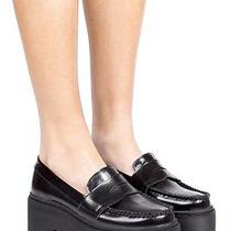 Brand New in Box Jeffrey Campbell Dilbert Platform Loafers Size 8 Photo