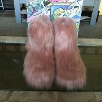 Brand New in Box Jeffrey Campbell Fluffy Faux Fur Bootie Size 9 Photo