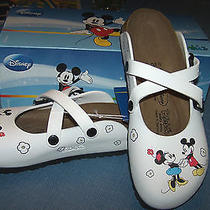 Brand New in Box Minnie & Mickey Birkenstock Clogs -Sz 38 or 7 - Very Cute  Photo