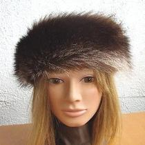 Brand New Individual Natural Raccoon Fur Headband Hat Women Woman  Photo