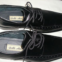 Brand New   Italian  Style    Black  Dress   Shoes   Size 11 M Photo