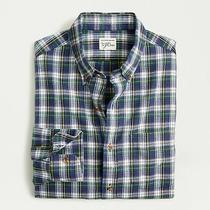 Brand New J.crew Slim Untucked Brushed Twill Shirt in Campbell Tartan / Medium M Photo