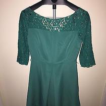 Brand New Jessica Simpson Short Sleeve Dress Green  Size 6 Photo
