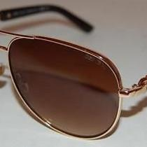 Brand New Jimmy Choo Reese/s Ooo Rose Gold Sunglasses Ooo Shades Photo