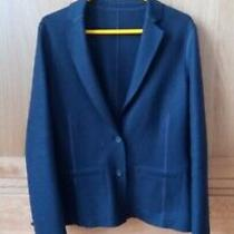 Brand New Lacoste Wool Blend Navy Jacket/blazer Size 38 Photo