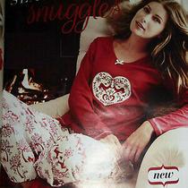 Brand New Ladies Classic Reindeer Cotton Pjs/pyjamas Size 12/14 From Avon  Photo