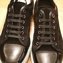 Brand New Lanvin Men's Black Classic Low Top Sneakers Photo